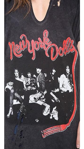 Prince Peter New York Dolls Oversized Tee