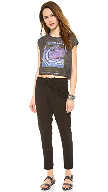 Prince Peter Metallica Crop Tank
