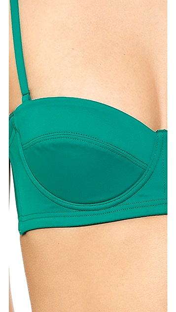 Prism Positano Bandeau Bikini Top