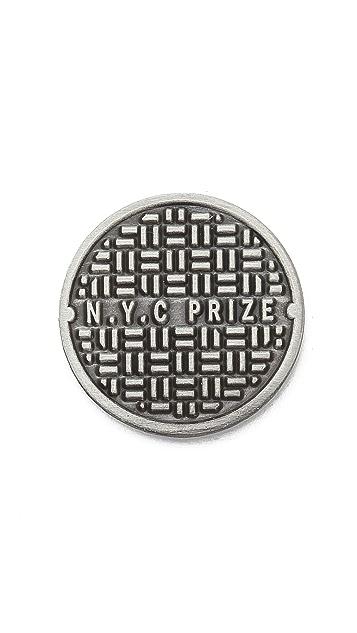Prize Pins Sewer Rats Pin