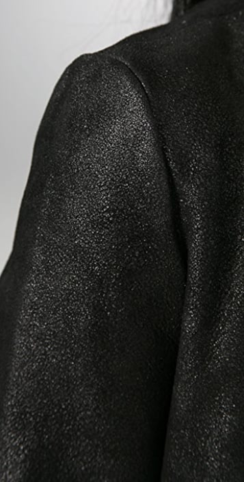 PRPS Japan Leather Cape Jacket
