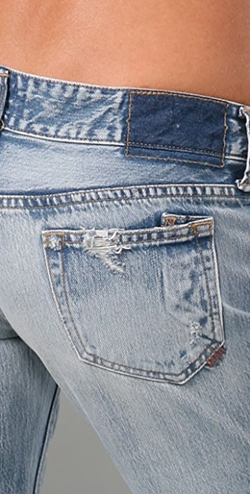 PRPS Japan Firebird Straight Leg Jeans