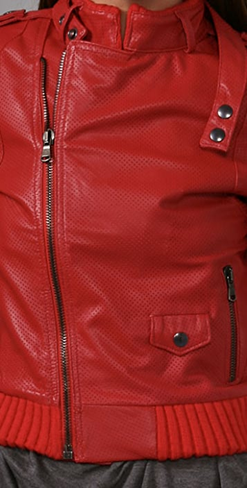 PRPS Japan Leather Motorcycle Jacket