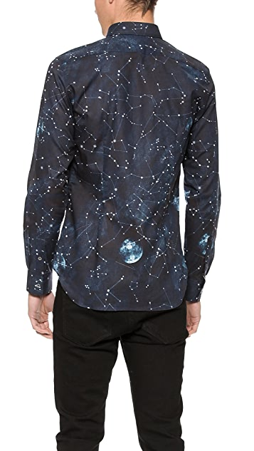 PS by Paul Smith Solar Print Shirt