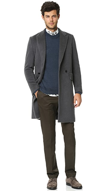 PS by Paul Smith Double Breasted Overcoat
