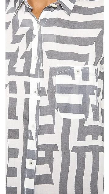 Paul Smith Black Label Oversized Shirtdress