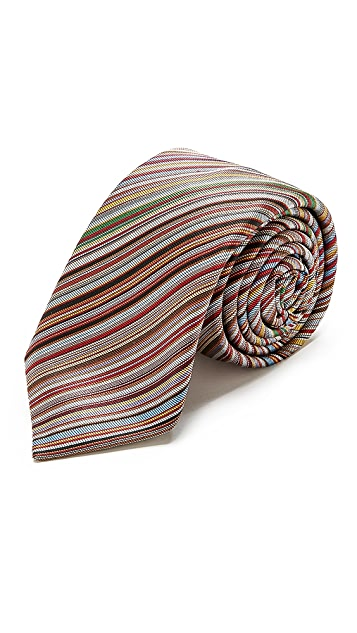 Paul Smith Diagonal Stripe Tie