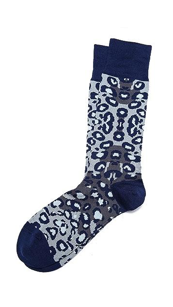 Paul Smith Leopard Socks