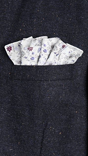 Paul Smith London Line Pocket Square