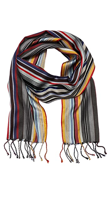 Paul Smith Skinny Stripe Scarf