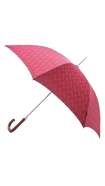 Paul Smith Doodle Print Umbrella