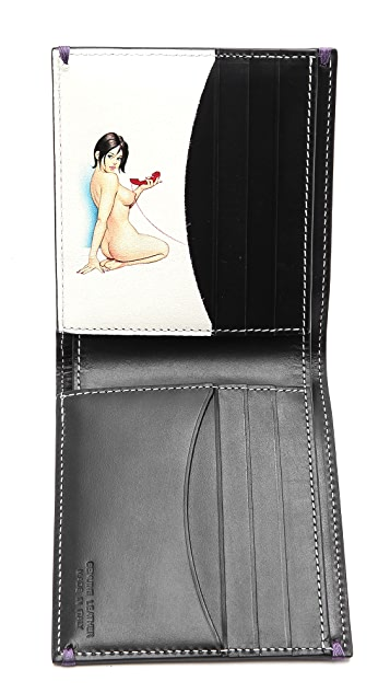 Paul Smith Naked Lady Billfold Wallet
