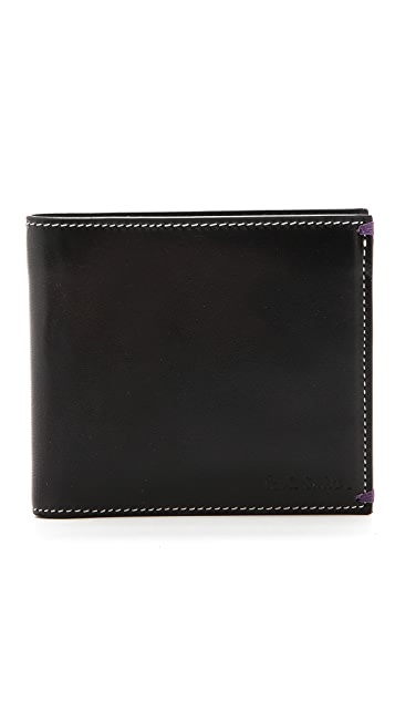Paul Smith Naked Lady Billfold & Coin Wallet