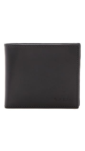 Paul Smith Multi Stripe Billfold with Coin Pocket