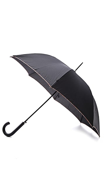 Paul Smith Multistripe Trim Walker Umbrella