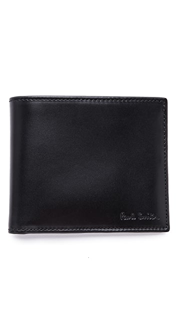 Paul Smith Billfold Wallet with Multistripe Interior
