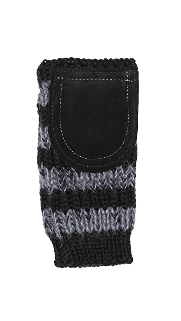 Paul Smith Patch Mittens