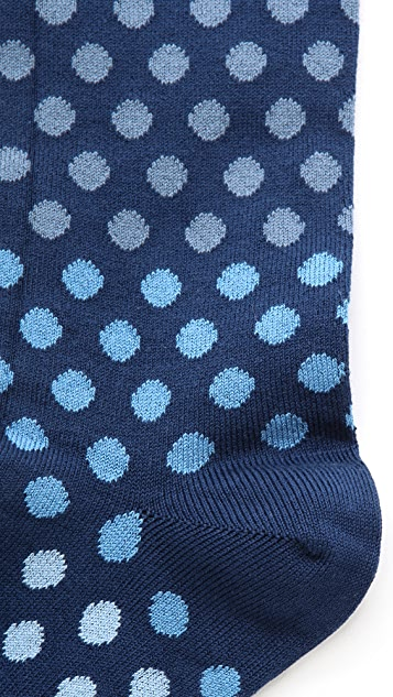 Paul Smith Graduated Polka Dot Socks