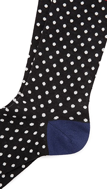 Paul Smith Polka Dot Stripe Socks