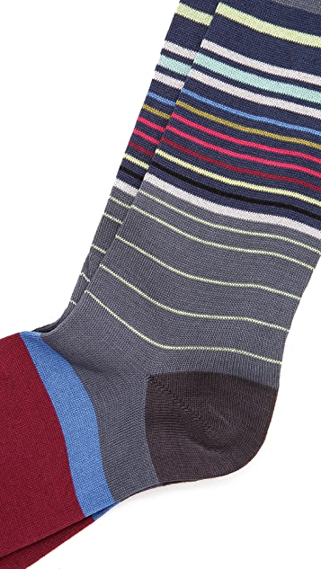 Paul Smith Road Map Socks