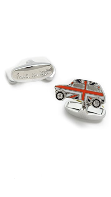 Paul Smith Union Jack Mini Cooper Cufflinks