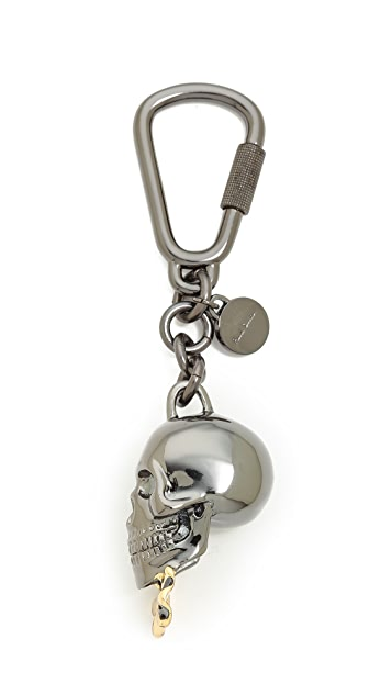 Paul Smith Dressed Skull Keyring