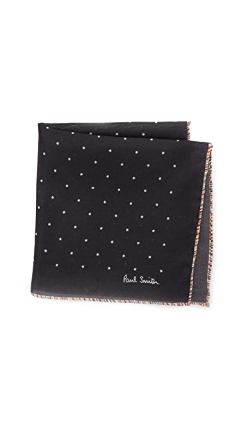 Paul Smith Mini Star Pocket Square