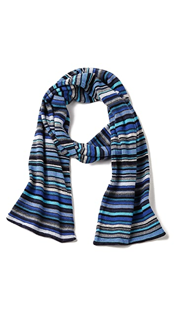 Paul Smith Multi-Stripe Scarf