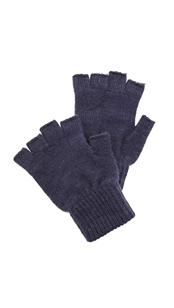 Paul Smith Cashmere Fingerless Gloves