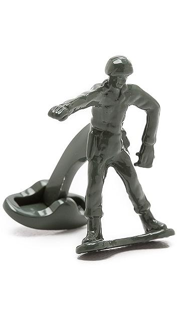 Paul Smith Toy Soldier Cufflinks