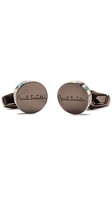 Paul Smith Narrow Edge Cufflinks