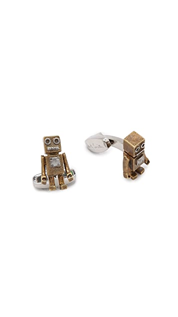 Paul Smith Tin Toy Cufflinks
