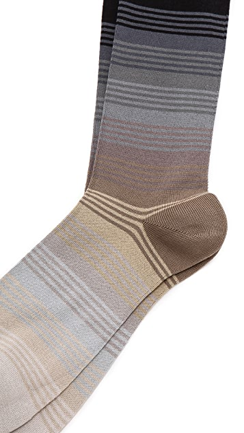 Paul Smith Graduated Stripe Socks