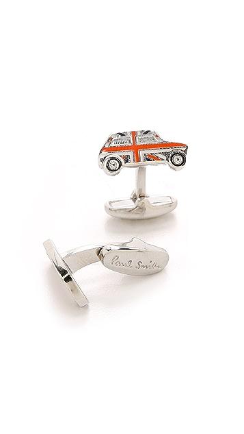 Paul Smith Mini Car Enamel Cufflinks