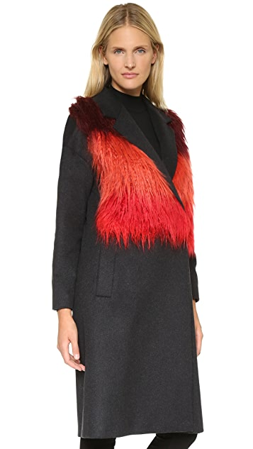 Paul Smith Coat with Color Vest Front
