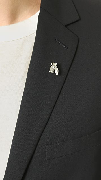 Paul Smith Fly Tie Lapel Pin