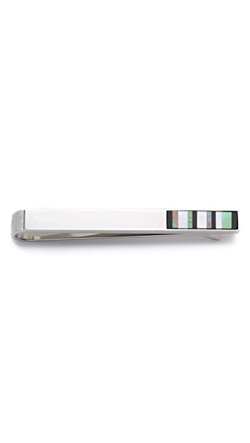 Paul Smith Stripe Tie Bar