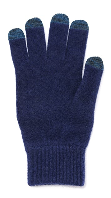 Paul Smith Bright Wool Gloves