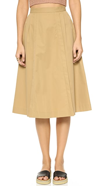 Paul Smith Pleated Skirt with Pockets