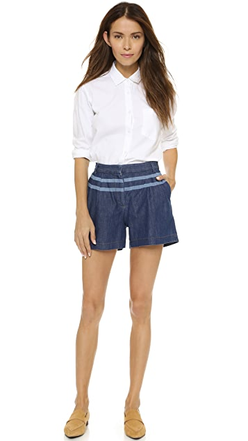 Paul Smith Shorts with Double Stripe Waist