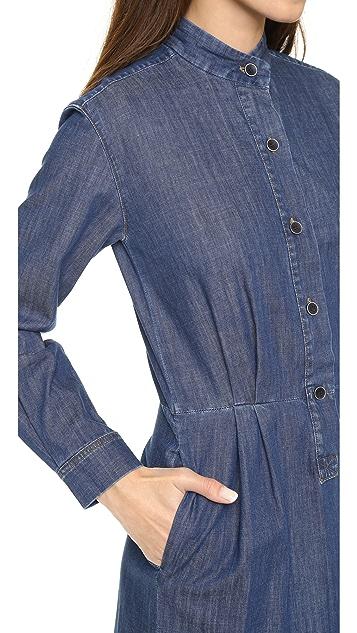 Paul Smith Shirtdress with Triple Stripes