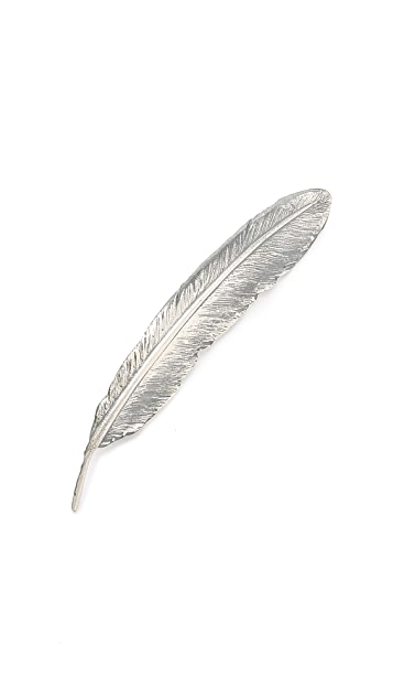 Paul Smith Feather Lapel Pin