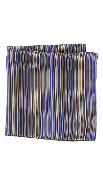 Paul Smith New Stripe Pocket Square