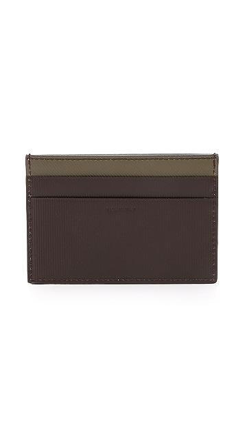 Paul Smith Stripe Emboss Credit Card Case