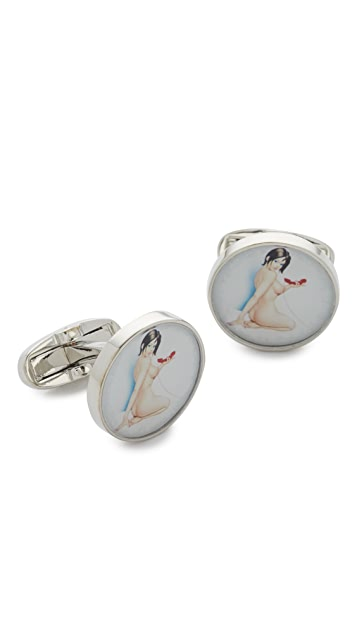 Paul Smith Naked Lady Cuff Links