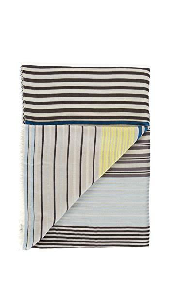 Paul Smith Summer Stripe Scarf