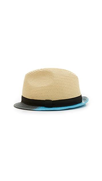 Paul Smith 3 Color Painted Hat