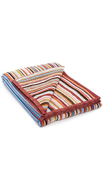 Paul Smith Multistripe Towel