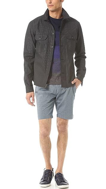 Paul Smith Jeans Herringbone Shorts