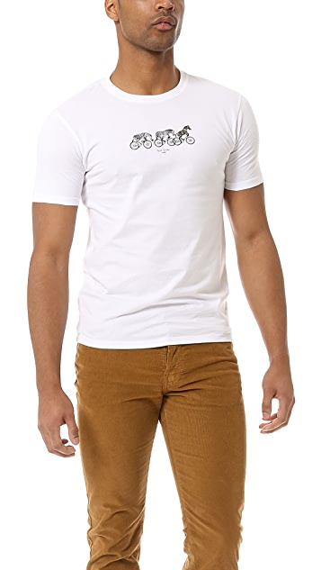 Paul Smith Jeans Slim Fit Bike T-Shirt